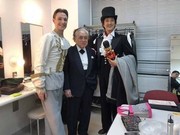 福田先生とトーリャ
