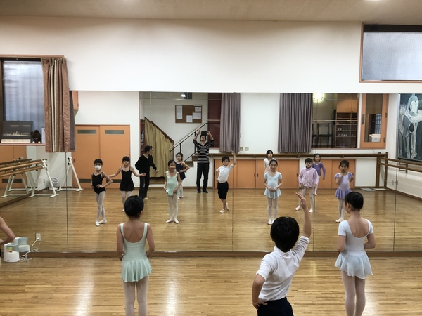 練馬区のバレエ教室 練馬区春の文化祭