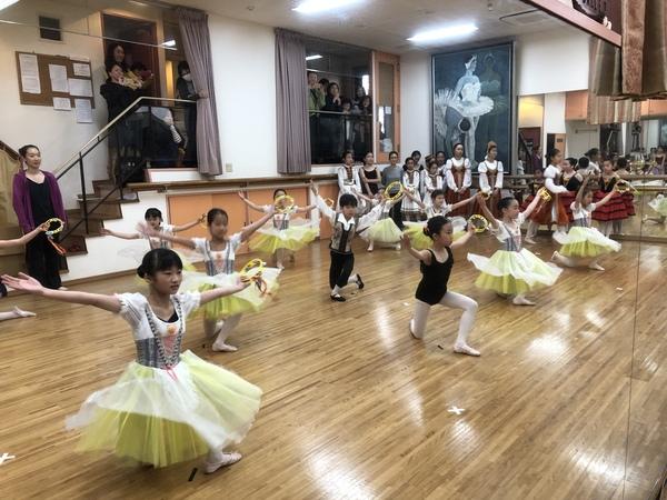 練馬区のバレエ教室  春の文化祭公演