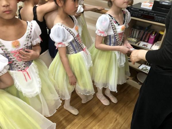 練馬区のバレエ教室  本日のリハーサル