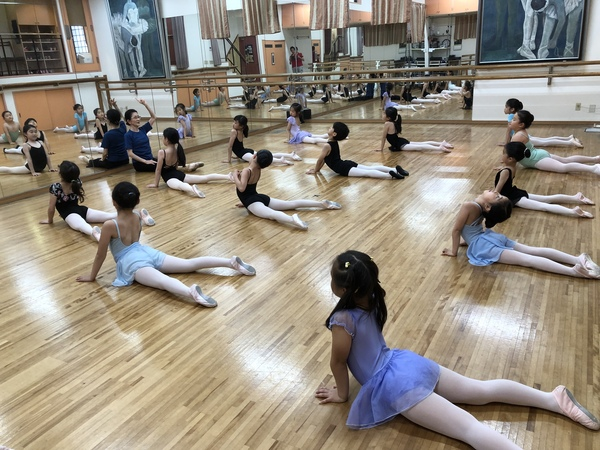 練馬区のバレエ教室  エンジェルクラス